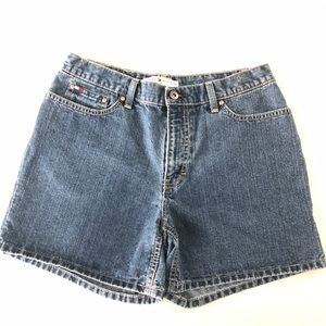 Tommy Hilfiger Denim Shorts Size 8 Medium Wash